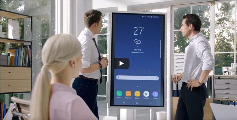 Video über das Samsung Flip